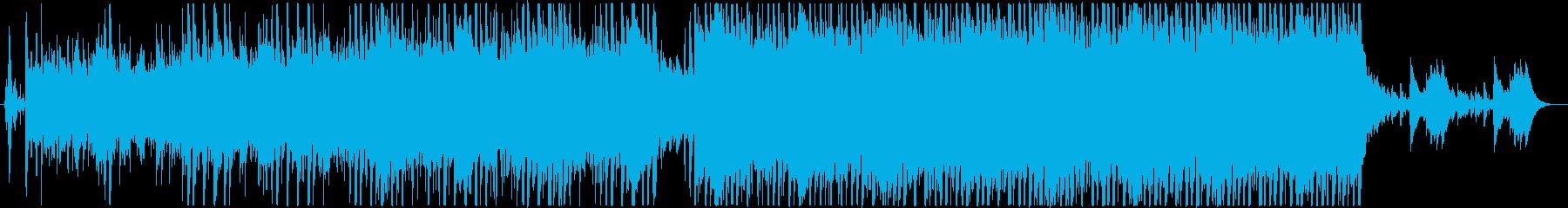 オリエント感のあるショートBGM、PV系の再生済みの波形