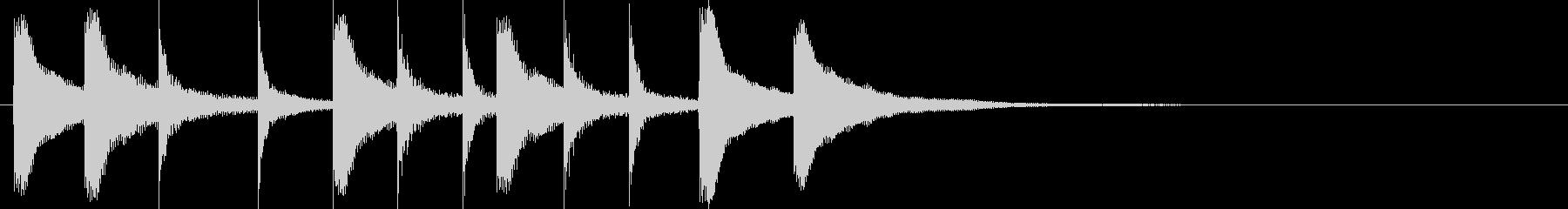 ドラム/ティンバレス フィルイン 27の未再生の波形