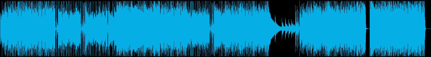 かっこいいギターソロも入ったソフトロックの再生済みの波形
