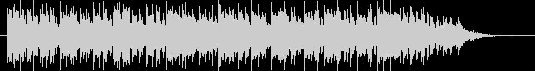 近未来的なBGM(30ver)の未再生の波形