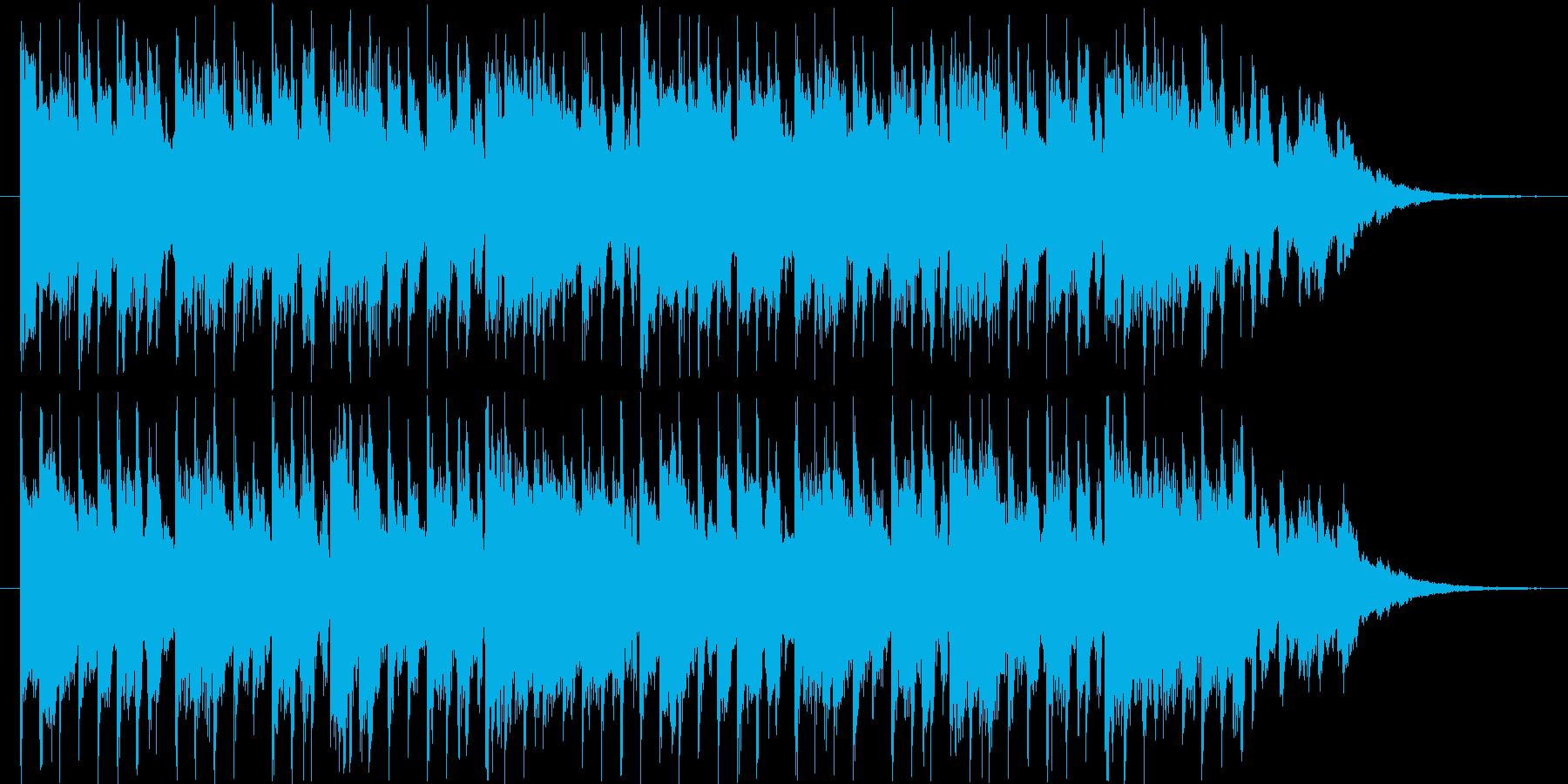 近未来的なBGM(30ver)の再生済みの波形