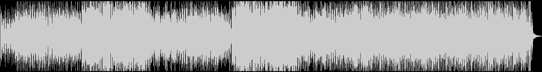 ワクワク、コミカル、ピアノの未再生の波形