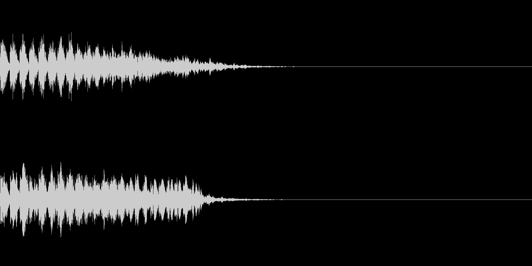 瞬間移動/回想シーン/タイムワープ Aの未再生の波形
