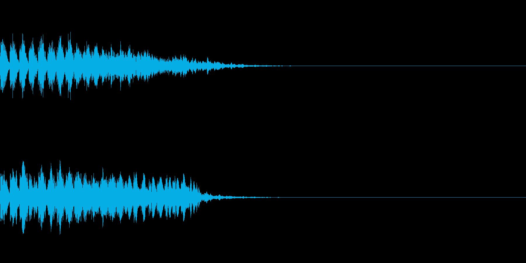 瞬間移動/回想シーン/タイムワープ Aの再生済みの波形