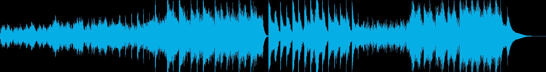 ルームミュージックでリラクゼーションな曲の再生済みの波形