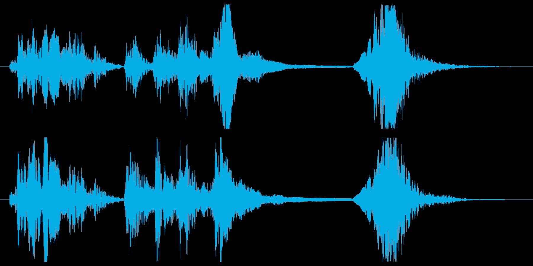 遊び心のあるコメディT.V.スティ...の再生済みの波形
