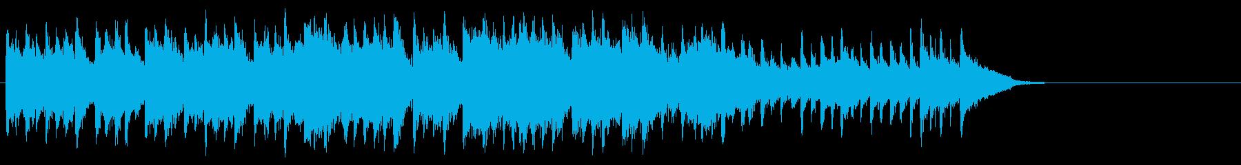 散歩する穏やかなポップス(サビ~エンド)の再生済みの波形