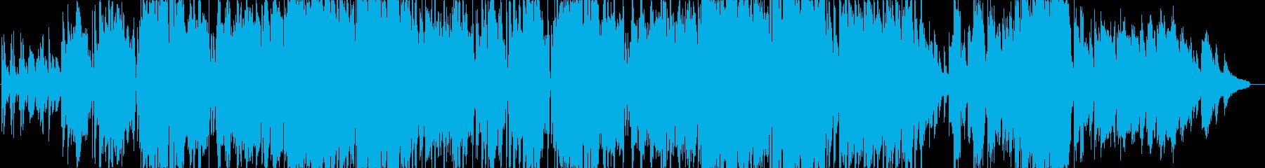 ピアノの旋律が印象的なミドルバラードの再生済みの波形