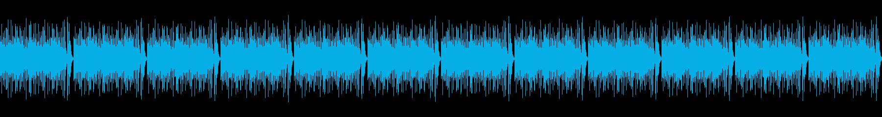 魔界・魔族系Vtuber  雑談BGMの再生済みの波形