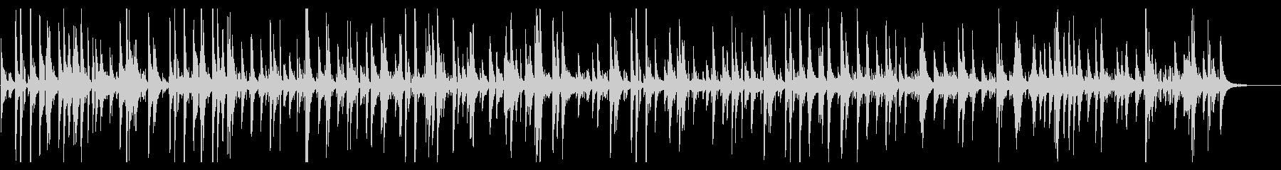ジャズバーで流れるお洒落ピアノバラードの未再生の波形