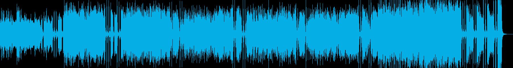 スリリング、軽快なFusionの再生済みの波形