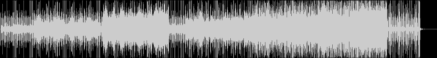 声の広がりが心地よい不思議なシンセの曲の未再生の波形