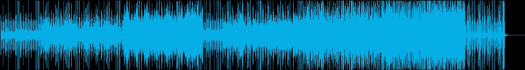 声の広がりが心地よい不思議なシンセの曲の再生済みの波形