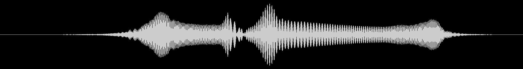 SF、機械的な効果音の未再生の波形