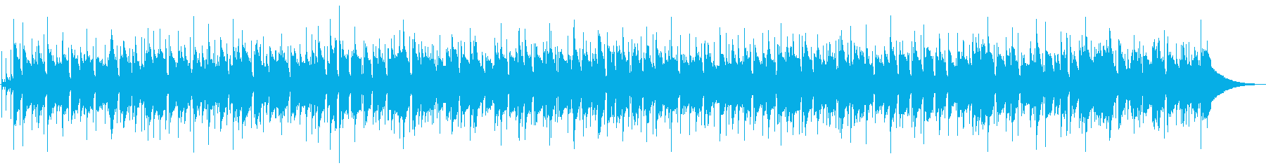 夏向けアコースティックマイナーバラードの再生済みの波形
