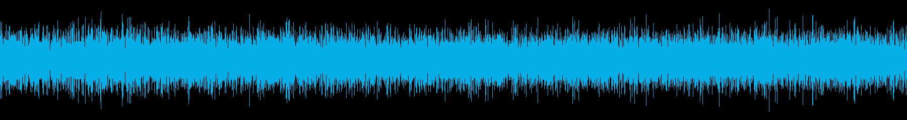 サーバルーム内の空調ノイズの再生済みの波形