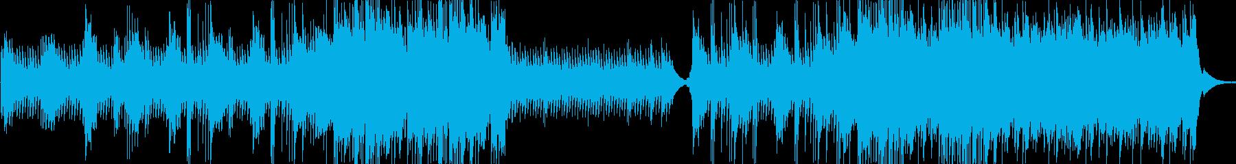 和風 生演奏三味線 静かで壮大なバラードの再生済みの波形
