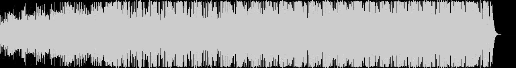 疾走感ある80年代風レトロ・ポップの未再生の波形