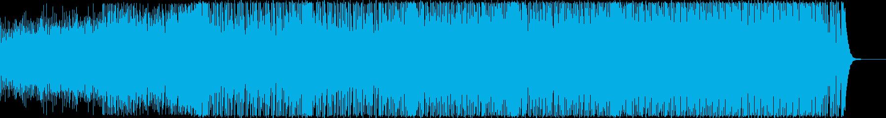 疾走感ある80年代風レトロ・ポップの再生済みの波形