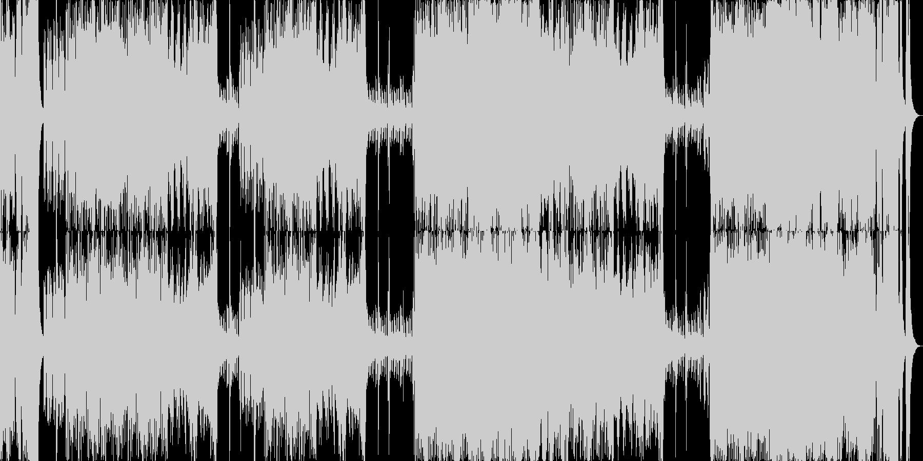 オーケストラBGM行進入場発表シリーズの未再生の波形