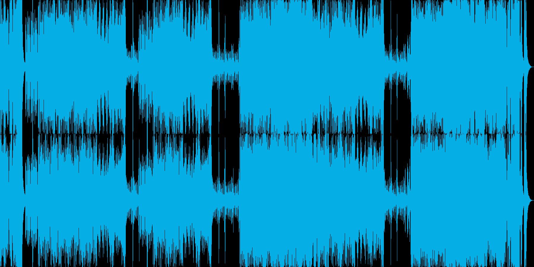 オーケストラBGM行進入場発表シリーズの再生済みの波形