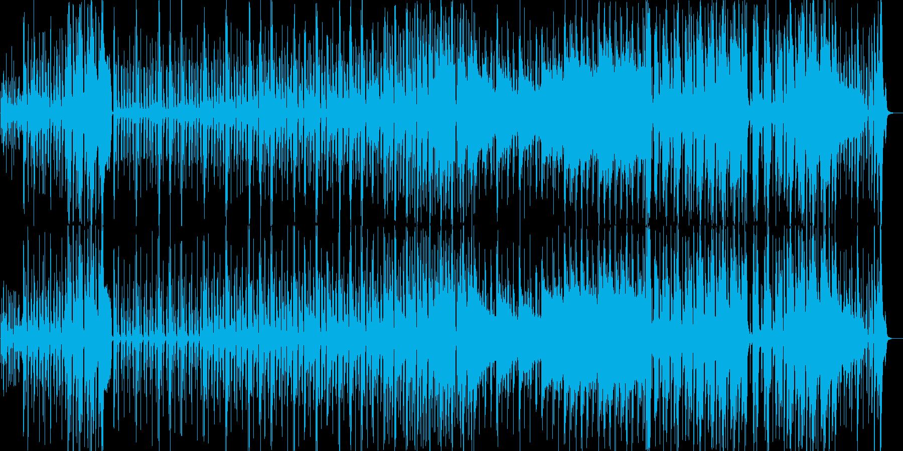 琴で春和風ポップで横ノリなCM用企業VPの再生済みの波形