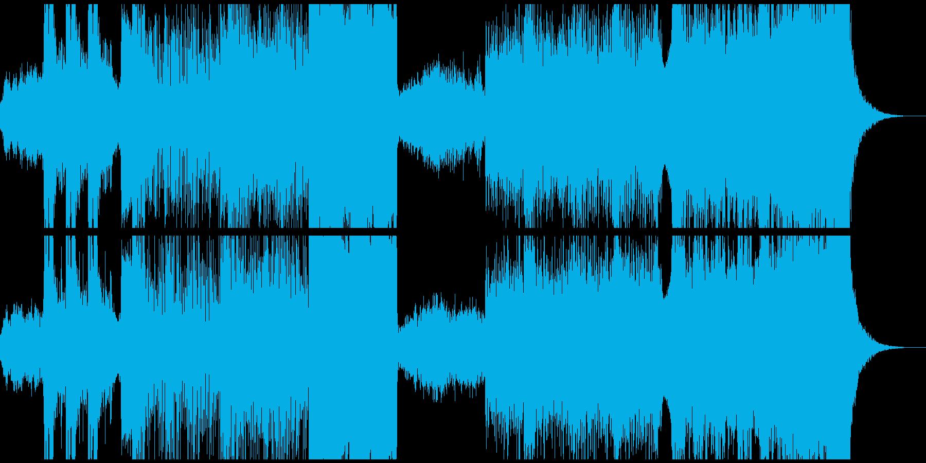 epic系戦闘曲の再生済みの波形