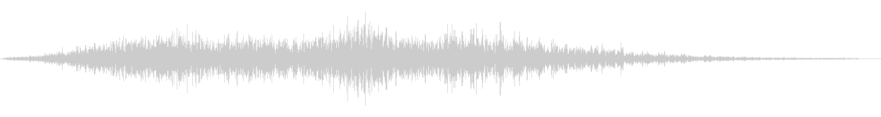 「セイヤ!」複数名の掛け声の未再生の波形