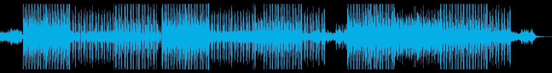 気だるいギターのオルタナ・エモトラップの再生済みの波形