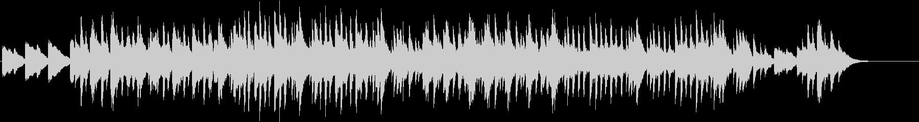 怪しげなピアノ  ルーマニア民俗舞曲の未再生の波形
