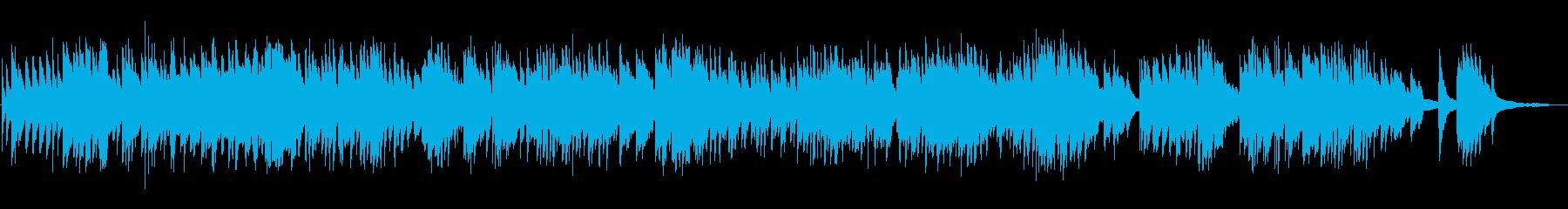 回想・過去を想うようなイメージのピアノの再生済みの波形
