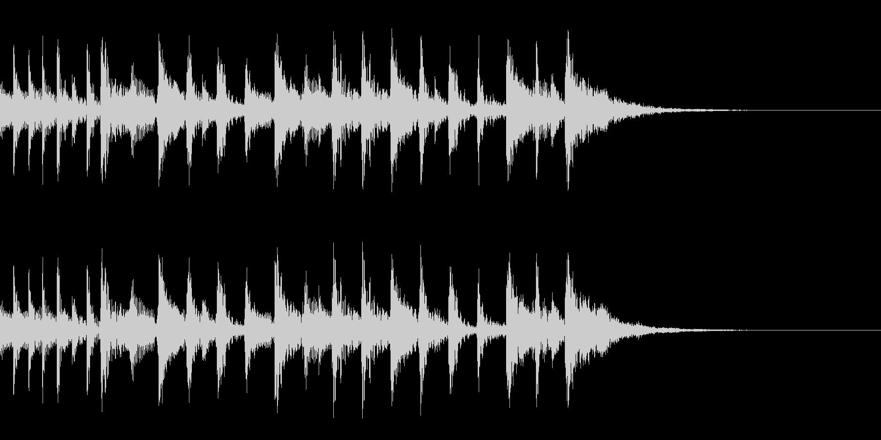ずるいALT。混合の未再生の波形