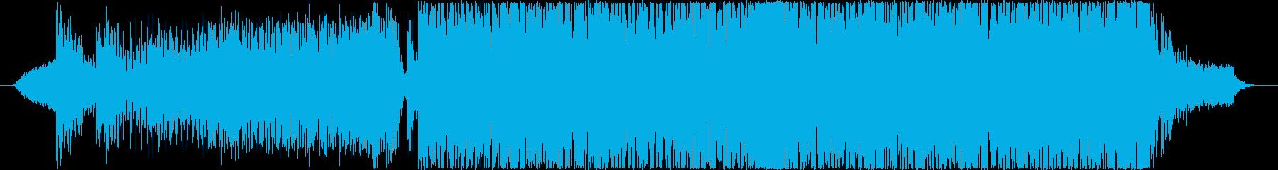 オープニングや入場や次回予告向けのBGMの再生済みの波形