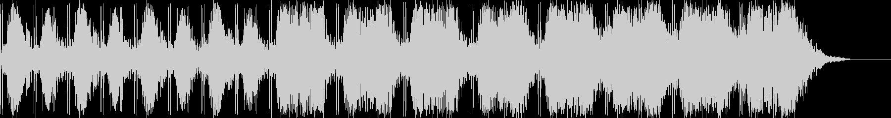 不穏で不気味な雰囲気のBGMの未再生の波形