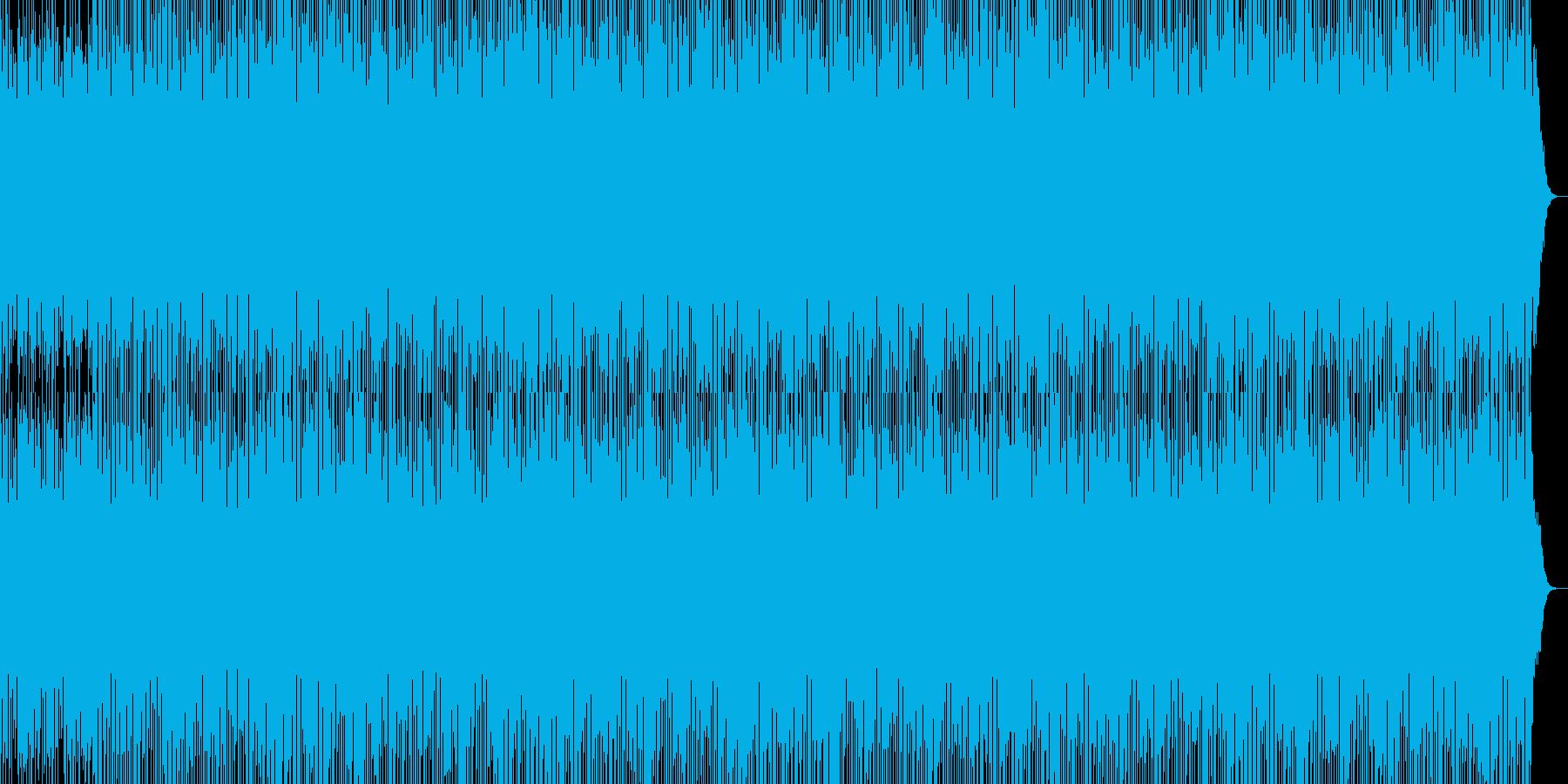 記憶の回想シーンに合いそうな物寂しい1曲の再生済みの波形