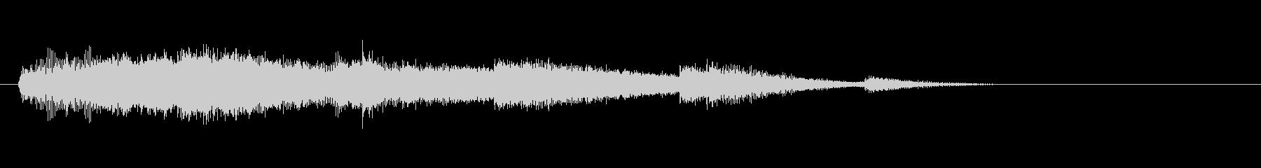 テーマ18:代替ミックスの未再生の波形