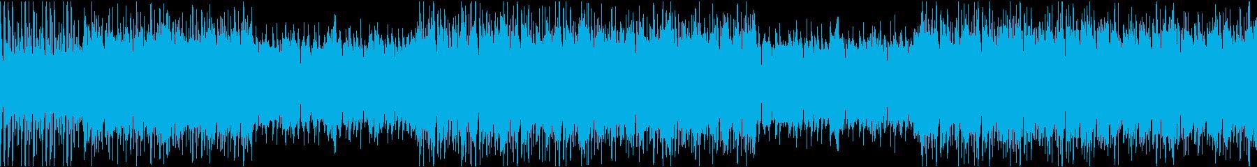 12秒でサビ、ダーク/静かめループの再生済みの波形