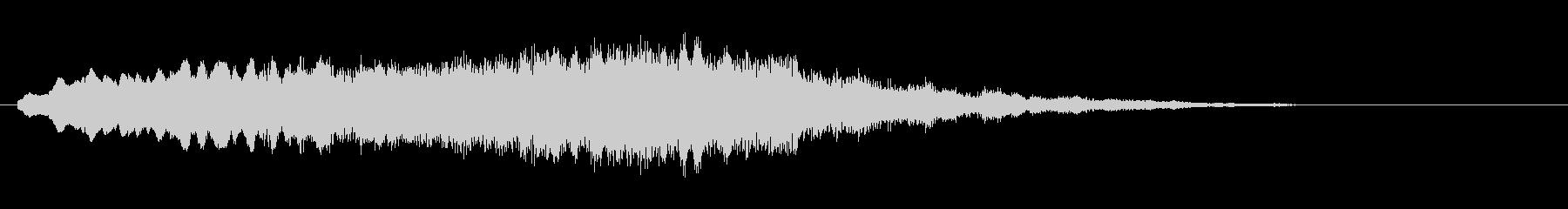 素材 ソフトハムドローンハイ03の未再生の波形