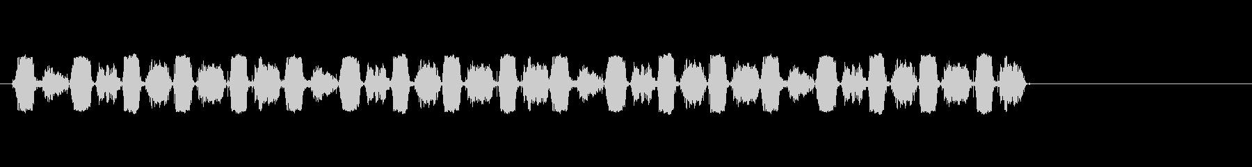ハンドヘルドソー1;木材を介した前...の未再生の波形