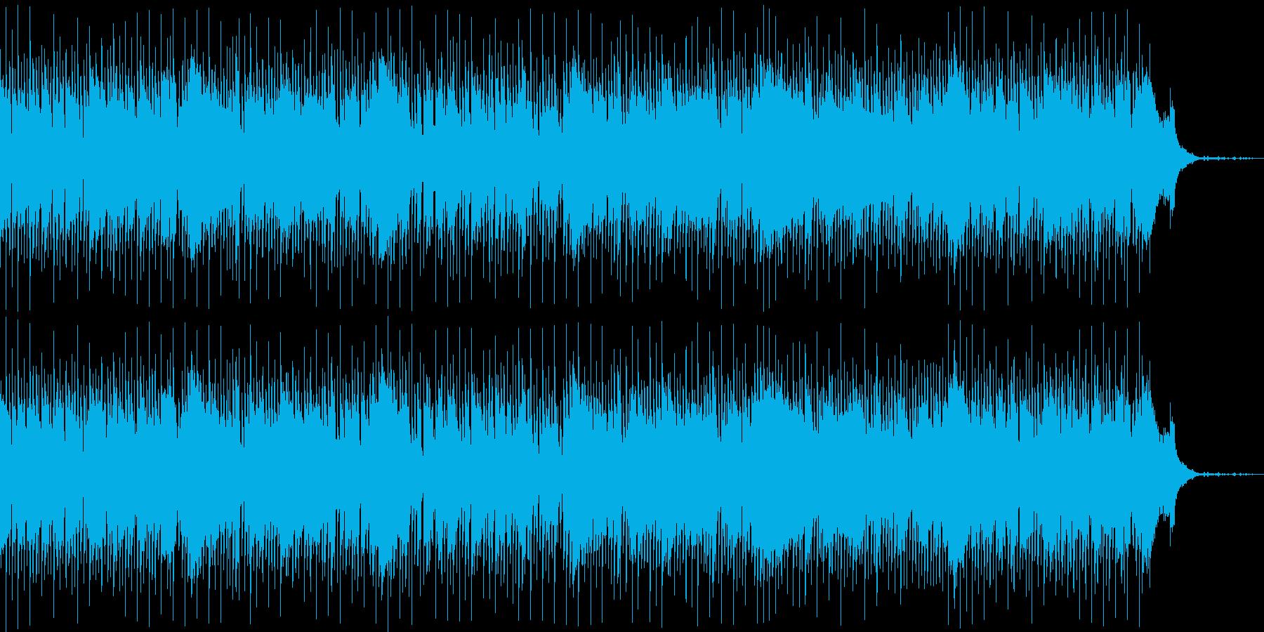 おしゃれで爽やかなジャズの再生済みの波形