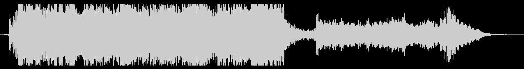 ハリウッド映画風の壮大なオーケストラ7Bの未再生の波形