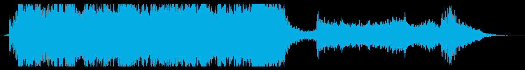 ハリウッド映画風の壮大なオーケストラ7Bの再生済みの波形