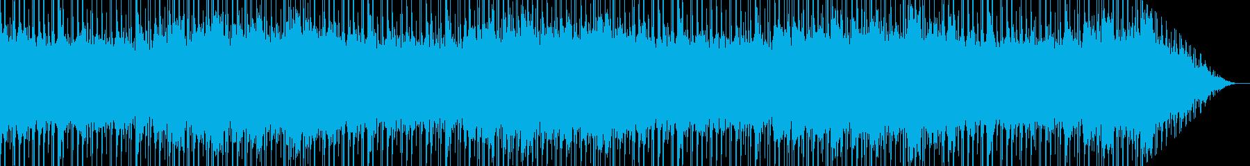ほのぼの&爽やかなアコースティック癒し曲の再生済みの波形