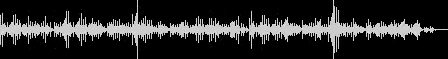 ゆったり3拍子フワフワ浮遊感ピアノBGMの未再生の波形