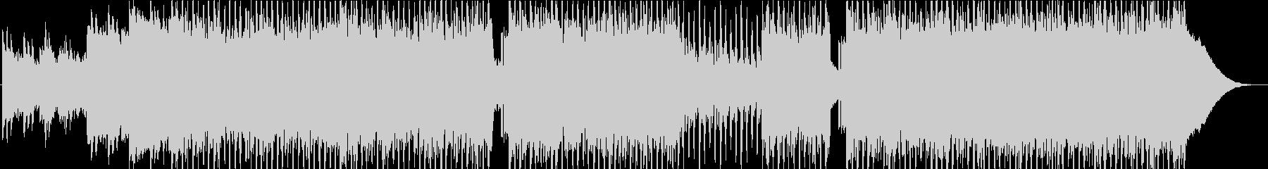 ピアノ 爽やか コーポレートの未再生の波形