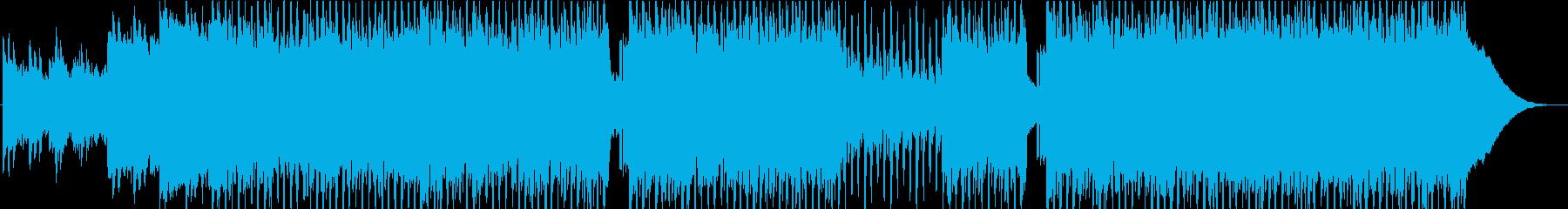 ピアノ 爽やか コーポレートの再生済みの波形