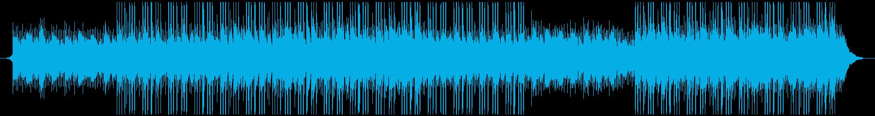 現代のテクノロジーの再生済みの波形