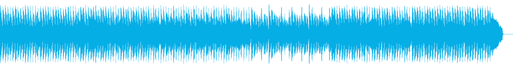 広大な風景に合うリズミカルな曲の再生済みの波形
