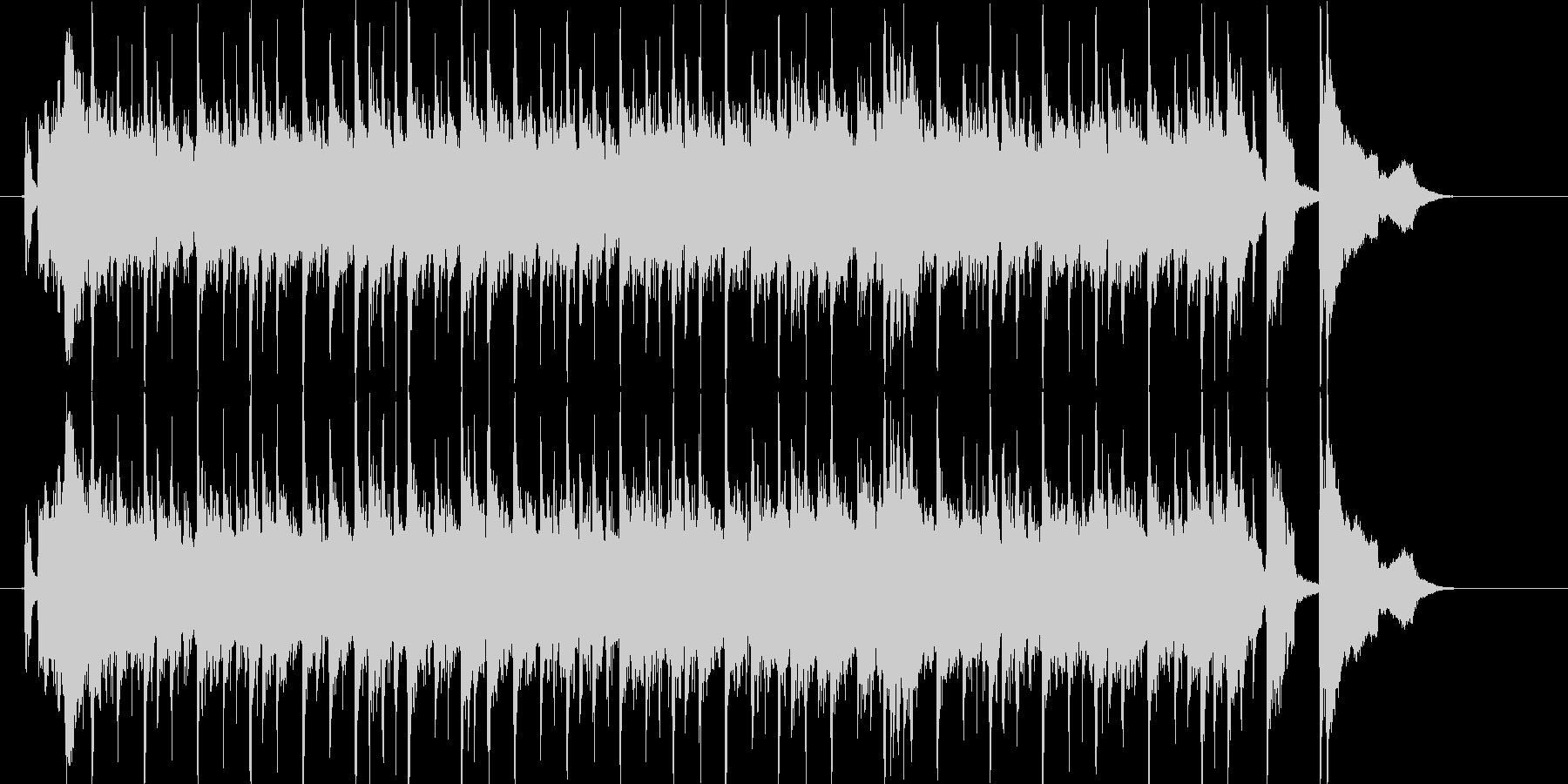 伸びやかでエレクトーンが印象的なBGMの未再生の波形