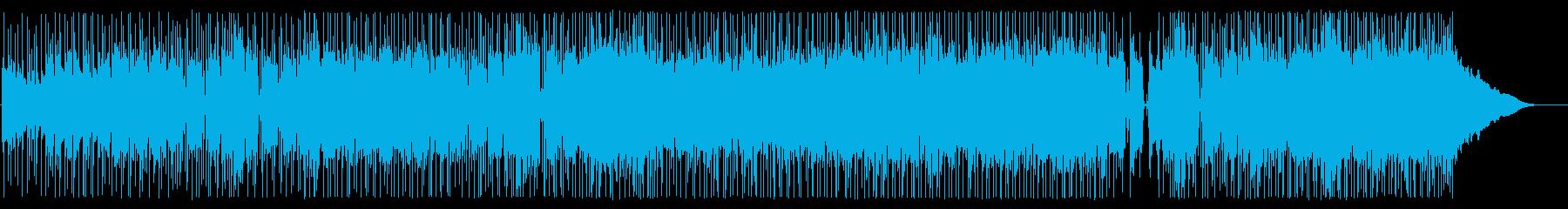 楽しくエネルギッシュな、ほっそりし...の再生済みの波形